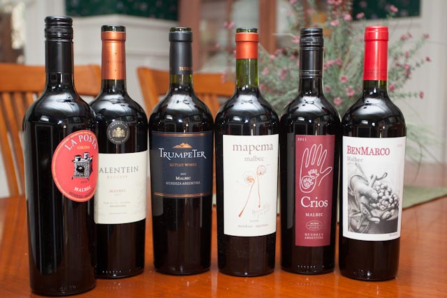 Malbec wine tasting we love five of these six wines for Best tasting cheap wine